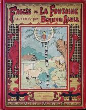 Les fables de La Fontaine (Rabier) -0- Fables de La Fontaine illustrées Par Benjamin Rabier