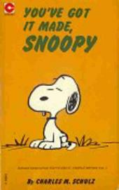Peanuts (Coronet Editions) -40- You've got it made, snoopy