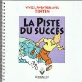 Tintin - Publicités -Renault- La Piste du succès