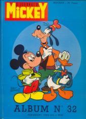 (Recueil) Mickey (Le Journal de) -32- Album n°32 (n°643 à 660)