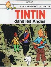Tintin - Publicités -14Sco2- Tintin dans les Andes