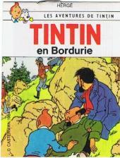 Tintin - Publicités -18Sco3- Tintin en Bordurie