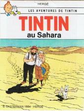 Tintin - Publicités -9Sco6- Tintin au Sahara