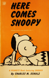 Peanuts (Coronet Editions) -6- Here comes snoopy
