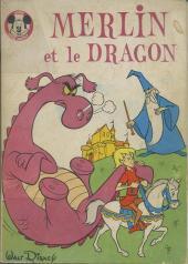 Votre série Mickey (2e série) - Albums Filmés ODEJ -59- Merlin et le dragon