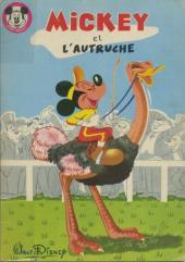 Votre série Mickey (2e série) - Albums Filmés ODEJ -8- Mickey et l'autruche