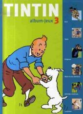 Tintin - Divers -AJ3- Tintin - album-jeux 3