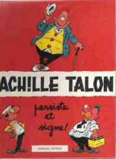 Achille Talon -3b72- Achille Talon persiste et signe !