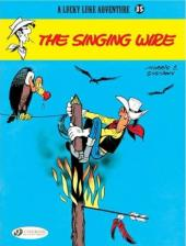 Lucky Luke (en anglais) -4635- The singing wire