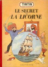 Tintin (Historique) -11B6- Le secret de la licorne