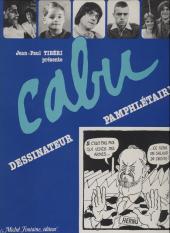(AUT) Cabu -1- Cabu dessinateur pamphlétaire