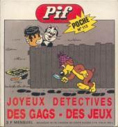 Pif Poche -112- Joyeux détectives