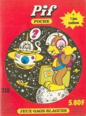 Pif Poche -218- L'espace