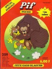 Pif Poche -259- Les animaux