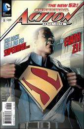 Action Comics (2011) -9- The curse of Superman