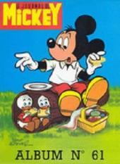 (Recueil) Mickey (Le Journal de) -61- Album n°61 (n°1129 à 1141)