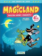 Magicland -1- Philtra mène l'enquête !