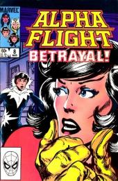 Alpha Flight (1983) -8- Cold hands, cold heart