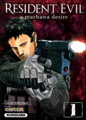 Couverture de Resident Evil - Marhawa desire -1- Volume 1