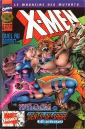 X-Men (Marvel France 1re série) -6- Psyloche vs Dents de sabre