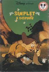 Mickey club du livre -234- Simplet a disparu