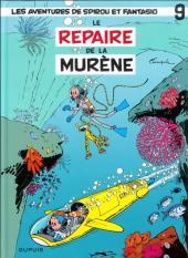 Spirou et Fantasio -9h10- Le repaire de la murène