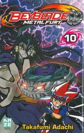 Beyblade Metal -10- Tome 10 / Metal Fury