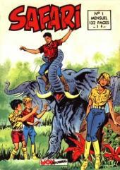 Safari (Mon Journal) -1- La jungle mystérieuse