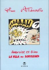 Ambroise & Gino -3- La villa des sortilèges