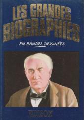Les grandes biographies en bandes dessinées - Edison