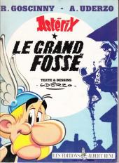 Astérix -25Pub- Le Grand Fossé