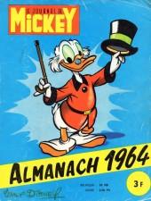 Almanach du Journal de Mickey -8- Année 1964