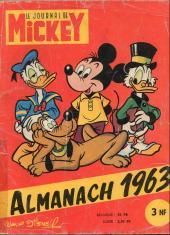 Almanach du Journal de Mickey -7- Année 1963