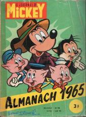 Almanach du Journal de Mickey -9- Année 1965