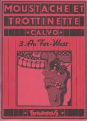 Moustache et Trottinette (Futuropolis) -3- Au Far-West