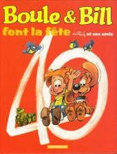 Boule et Bill -02- (Édition actuelle) -HS01- Boule & Bill font la fête