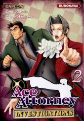 Ace Attorney Investigations -2- Tome 2