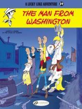 Lucky Luke (en anglais) -7339- The man from washington
