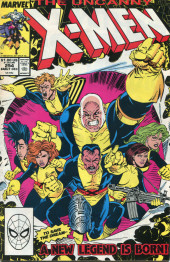 Uncanny X-Men (The) (1963) -254- Here we go again