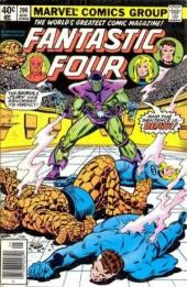 Fantastic Four (1961) -206- The death of… the Fantastic Four