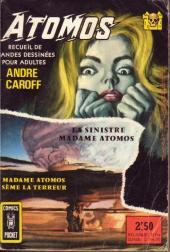 (Recueil) Comics Pocket -3033- La sinistre madame Atomos - Madame Atomos sème la terreur - Atomos (n°1 et n° 2)