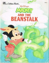 A golden book -7442- Mickey and the beanstalk