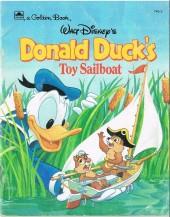 A golden book -40D- Donald duck's toy sailboat