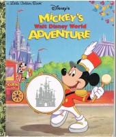 A little golden book - Mickey's walt disney world adventure