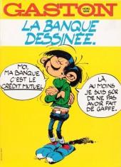 Gaston (Hors-série) -Pub- La banque dessinée