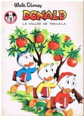 Votre série Mickey (2e série) - Albums Filmés ODEJ -48- Donald la vallée de tra-la-la