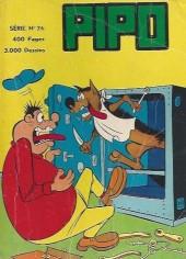 Pipo (Lug) -REC26- Album n°26 (du n°214 au n°219)