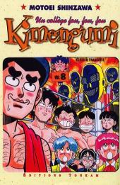 Kimengumi - Un collège fou, fou, fou -8- Les cinq démons