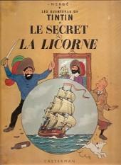Tintin (Historique) -11B35- Le secret de la licorne