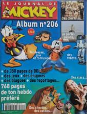 (Recueil) Mickey (Le Journal de) -206- Album n°206 (n°2711 à 2722)